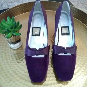 Nina Shoes - Nina dress shoes sz 9N burgundy